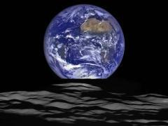 Неимоверная красота: вид Земли в ночном небе Луны (ФОТОФАКТ)