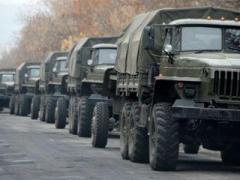 В Крыму зафиксировали перемещения колонны военной техники в РФ (ВИДЕО)