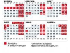 Выходные и праздники 2016-го: как будут отдыхать украинцы