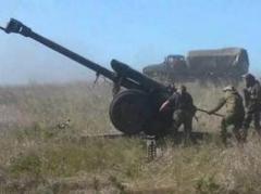 Весь вечер жители Горловки слышат работу тяжелой артиллерии