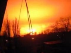 Сегодня утром в Донецке прогремел страшный взрыв