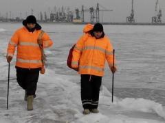 Замороженный Мариуполь предупреждают