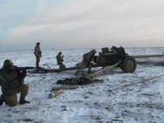 В районе Широкино бойцы АТО отогнали с нейтральной полосы группу боевиков
