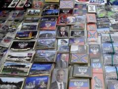 В Донецке в Святвечер торговали портретами Путина и Захарченко
