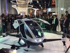 Представлен первый в мире пассажирский беспилотник (ВИДЕО)