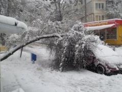 На Рождество из-за непогоды 117 населенных пунктов Украины остались без света