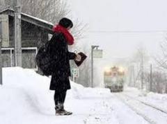 В Японии железнодорожная станция работает ради обычной школьницы (ВИДЕО)