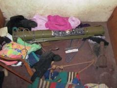Гранатомет, гранаты, наркотики - серьезные находки у жителя Славянского района (ФОТО)