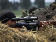 С начала суток боевики 28 раз нарушали условия перемирия (ВИДЕО)