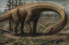 Найдены останки крупнейшего сухопутного динозавра