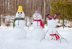 Британские математики определили размеры идеального снеговика