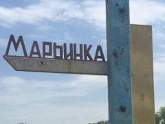 В Марьинке обнаружен серьезный схрон с боеприпасами