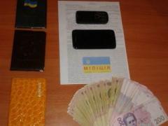 В Славянске попалась полицейская банда