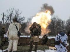Боевики обстреляли позиции ВСУ под  Донецком из минометов и БМП