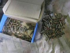 СБУ обнаружила на Луганщине очередной тайник с оружием и боеприпасами