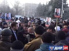 Почему Ясиноватая не приняла Губарева - объяснение  ДНРовцев
