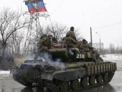 Боевики  перебрасывают под  Горловку и Енакиево танки и артиллерию