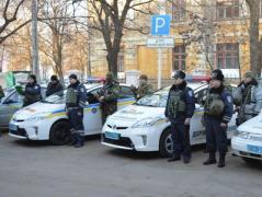 Группы быстрого реагирования Нацполиции заступили на круглосуточное патрулирование в Краматорске и Славянске