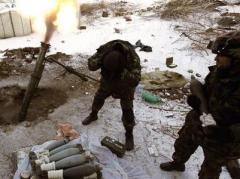Ночью в Донецке и окрестностях снова было жарко - боевики палили из всех видов оружий