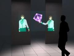 """Mitsubishi Electric показала """"воздушный дисплей"""""""
