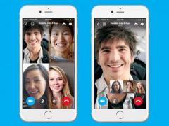 Мобильные версии Skype обзавелись поддержкой видеоконференций