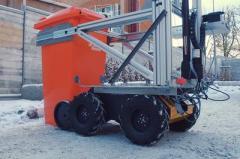 Volvo представила робота-мусорщика (ВИДЕО)