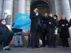 В Киеве почтили память Немцова (ВИДЕО)