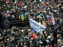 В Москве на марше памяти Бориса Немцова споют песню об украинке Надежде Савченко