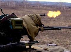 Сегодня ночью боевики продолжали обстрелы сил АТО, по Зайцево стреляли из минометов, по Березовому - из зенитки (ВИДЕО)