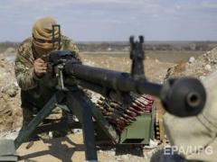 Боевики продолжают обстрелы из пулеметов, минометов и зениток, – штаб АТО
