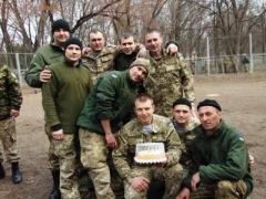 Как украинские военные вместе с жителями Славянска отпраздновали Масленицу (ФОТО)