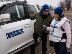За прошедшие выходные ОБСЕ насчитала в Донецке около 130 взрывов