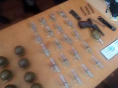 В Одесской области чуть не продали десятки гранат из зоны АТО
