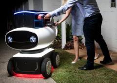 В Австралии представлен первый в мире робот-разносчик пиццы (ВИДЕО)
