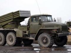 Боевики  сосредоточили «Грады» и САУ возле Кировска