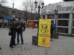 В Мариуполе проходит акция, на которую жители реагируют неоднозначно