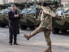 Порошенко пообещал приехать на выпуск первых патрульных Донбасса