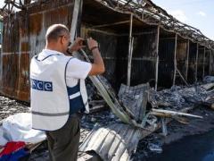 ОБСЕ зафиксировала в Ясиноватой 139 взрывов за 4 часа