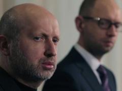 За прошлый год Яценюк заработал почти 2 млн.грн, а Турчинов - 1,6 млн, но не купил ни машины, ни квартиры
