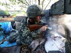 Штаб АТО опубликовал видео контратаки ВСУ в промзоне Авдеевки (ВИДЕО)