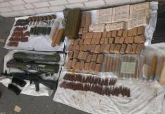 На Київщині виявлено арсенал боєприпасів з району АТО