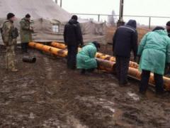 Газовая битва у Марьинки (ВИДЕО)
