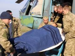 Как из Авдеевки эвакуируют раненых (ВИДЕО)