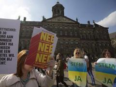 Как голландский референдум оценили  в  Украине
