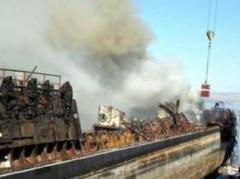 В России загорелась утилизируемая атомная подводная лодка