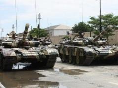В глубоком тылу боевиков подорвались 2 танка  и погибло 6 оккупантов