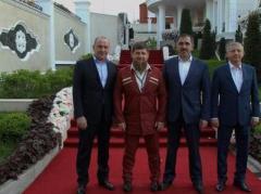 Глава Чечни Кадыров похвастался шикарной свадьбой своего племянника (ВИДЕО)