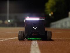 Puma создала робота-соперника для тренировки бегунов (ВИДЕО)