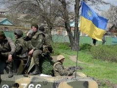 В День Победы ВСУ отвоевали у боевиков 1,5 км украинской земли