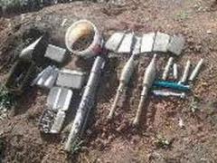 В Донецкой области СБУ обнаружила очередной тайник с боеприпасами